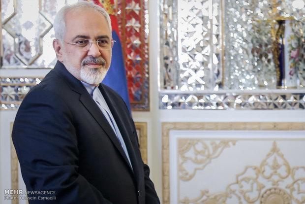 ظریف کی شامی وزیر خارجہ سے ملاقات