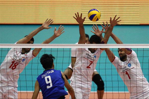 تیم ملی والیبال ب ایران