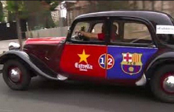 طرفداران بارسلونا