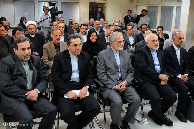 جلسه پرسش و پاسخ جمعی از اساتید دانشگاه در شورای راهبردی روابط خارجی با تیم هسته ای