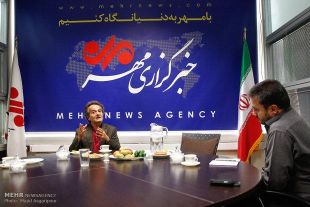 Shahrdad Rohani visits MNA