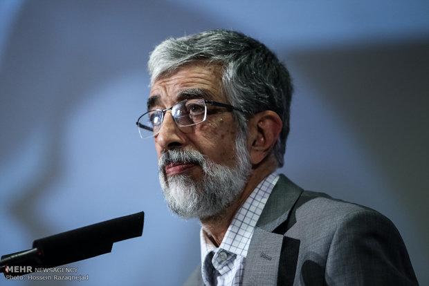 غلامعلی حداد عادل در هشتاد و دومین دوره دانش افزایی زبان فارسی