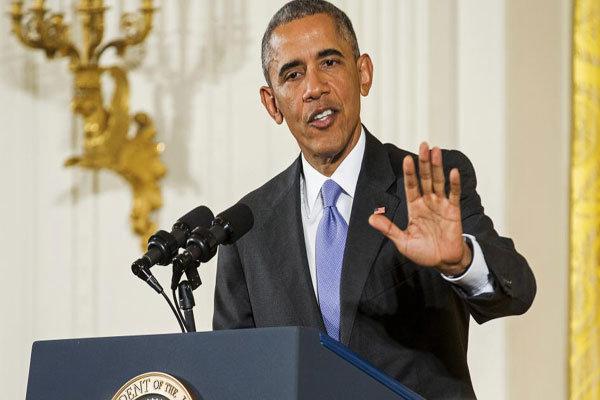 اوباما : رفض مبادرة الاتفاق الشامل للبرنامج النووي الإيراني يمنح طهران زمام المبادرة