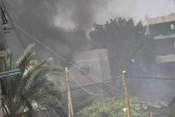 غزہ میں بم دھماکے میں 4 افراد شہید 20 زخمی