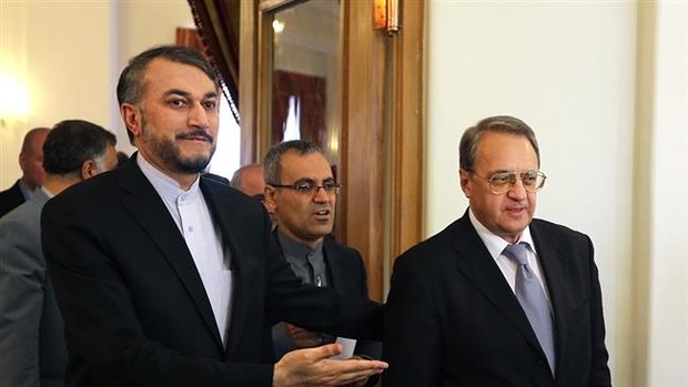 Iran, Russia discuss solutions for Mideast
