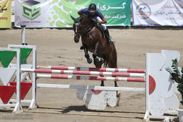 Isfahan horse jumping competitions