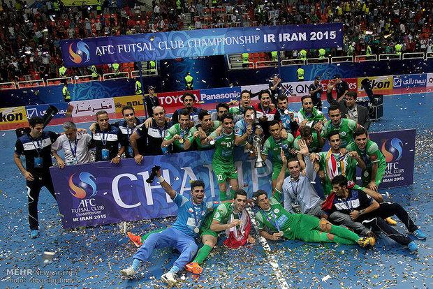 Futsal championship final in frames