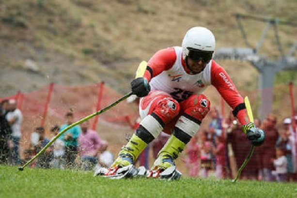 Iran grabs first ever gold in grass skiing