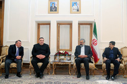 Iran, Georgia officials meet