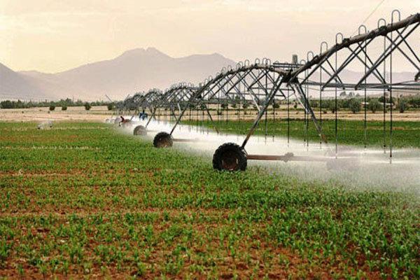 توسعه آبیاری نوین در ورامین