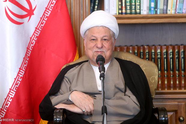 رفسنجاني : الشعب الايراني قد خرج مرفوع الرأس من الحظر الاقتصادي