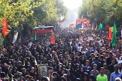 اصفہان میں غواص شہیدوں کی تشییع جنازہ