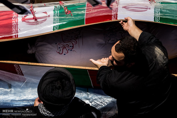 Young martyr diver funeral