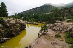 آلودگی آب رودخانه در کلرادو