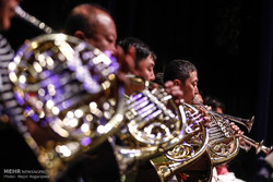 Iran, China orchestras' rehearsal session