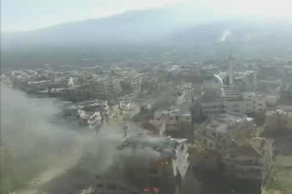 استكمال تقدم الجيش السوري ورجال المقاومة في الزبداني
