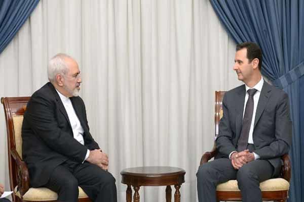 بشار الاسد يشيد بجهود ايران لوقف الحرب على سورية