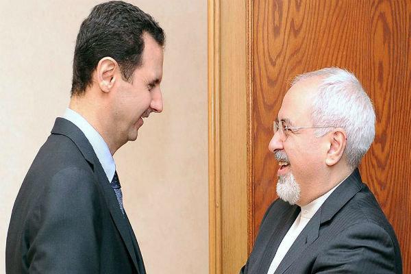 ظریف و اسد