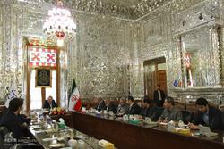 Larijani, ICRC chief meet