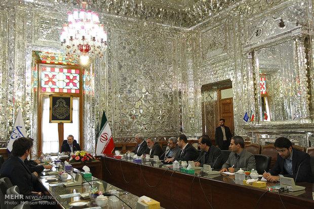 Larijani meets ICIR chief