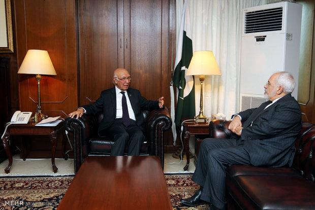 Zarif'in Pakistan ziyareti