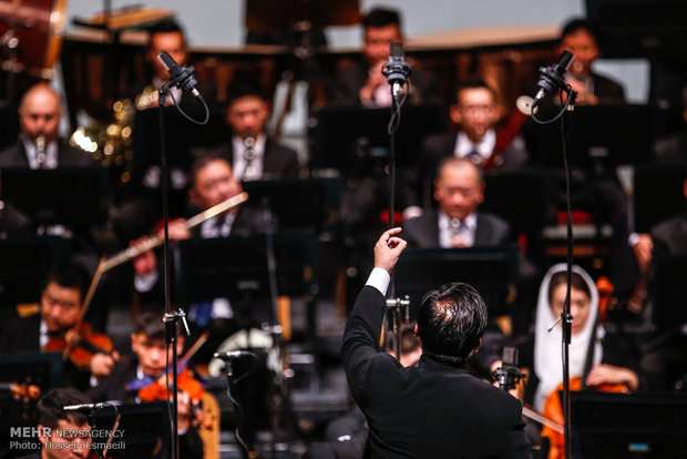 Iran, China orchestras joint performance