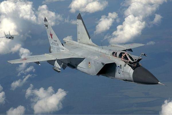 روسيا تسلم سوريا 6 مقاتلات من طراز ميغ 31