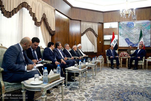 دیدار نوری المالکی  معاون اول رییس جمهور عراق با اسحاق جهانگیری معاون اول رئیسجمهور ایران