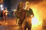 درگیری جوانان کرد با پلیس ترکیه