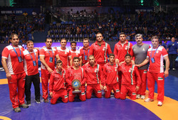 Iran junior freestylers land 1st in Brazil