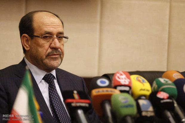 نشست خبری معاون اول رئیس جمهور عراق