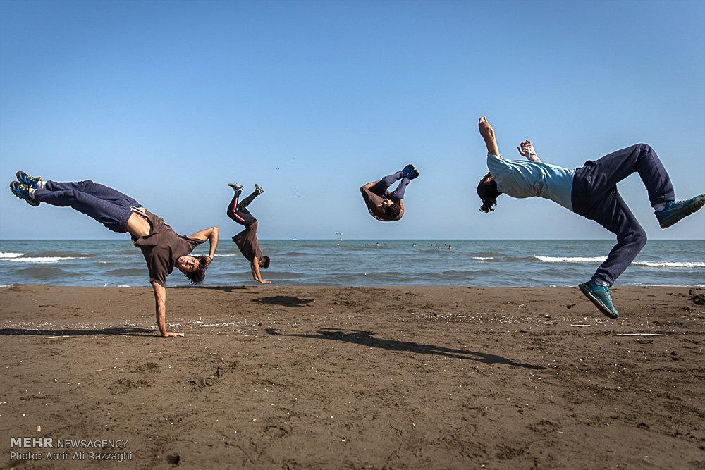 ورزش پارکور در مازندران