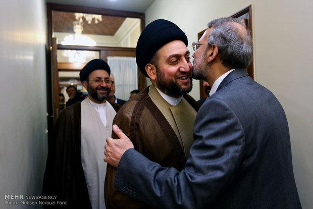 Larijani meets Iraqi counterpart