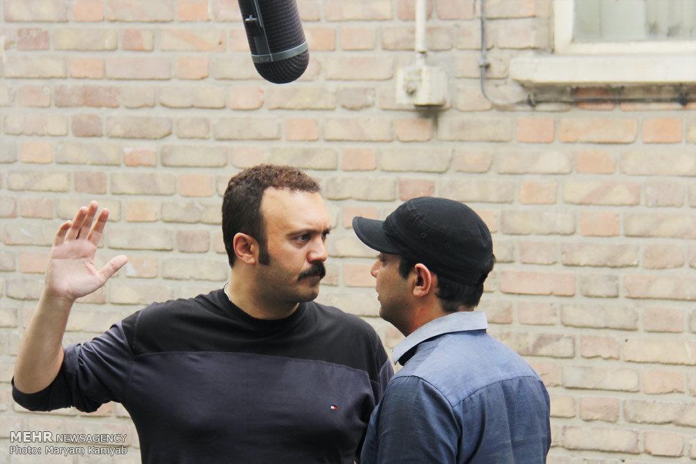 پشت صحنه سریال پشت بام تهران