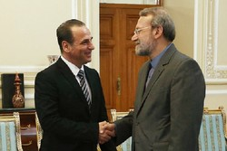 دیدار لاریجانی با وزیر بهداشت سوریه