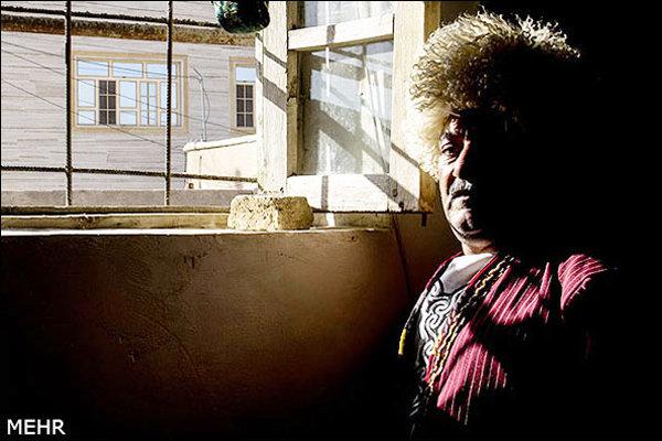 آنا مراد رستگاری پیشکسوت موسیقی مقامی خراسان شمالی