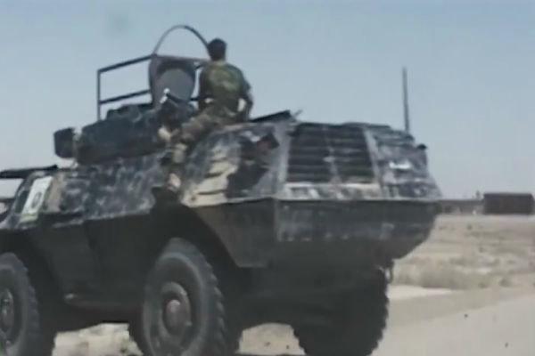فلم/ عراقی فوج کی داعش کے خلاف کارروائی اور خودکش حملہ
