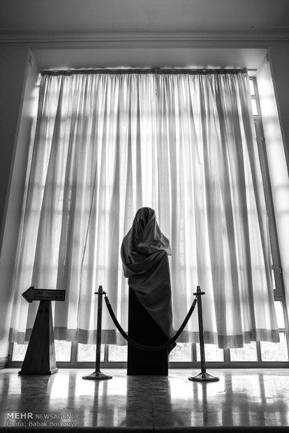 مراسم رونمایی از تندیس عزت الله انتظامی در خانه هنرمندان