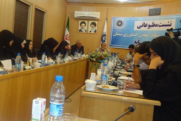 علی اصغر جمعه ای رئیس اتاق بازرگانی، صنایع، معادن و کشاورزی استان سمنان