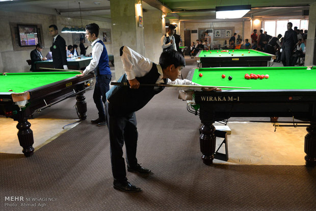 Iran U18 snooker competitions