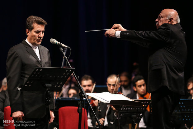 Iran national orchestra performance