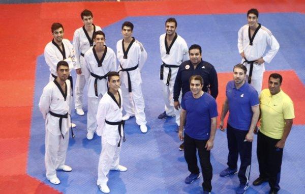 National Taekwondo team on camping