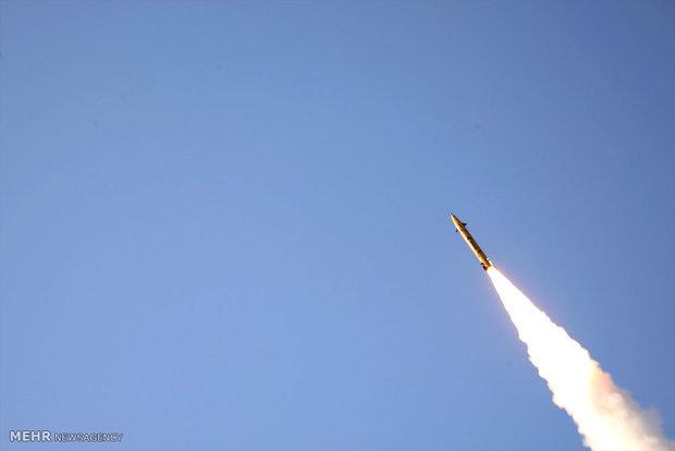 رونمایی از موشک نقطهزن فاتح ۳۱۳