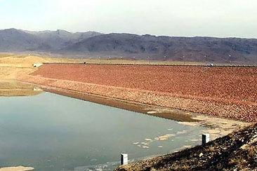 سد خاکی سرحدات میامی آبگیری شد/ ذخیره ۲۵ هزار مترمکعب آب