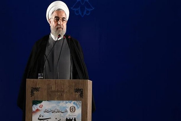 Rouhani stresses defense power for peace