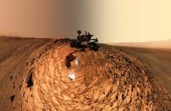 سلفی متفاوت «کنجکاوی» در مریخ