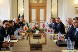 دیدار وزرای امورخارجه ایران و انگلیس