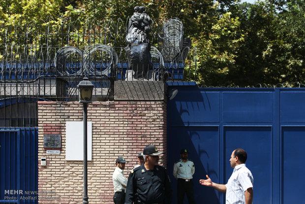 تہران میں برطانوی سفارتخانہ کھل گیا