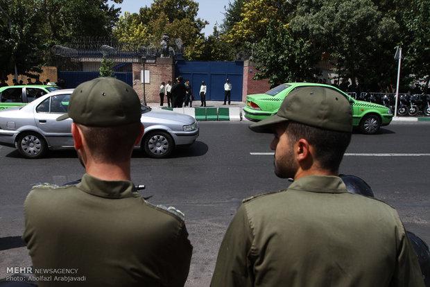 Reopening of British embassy in Tehran