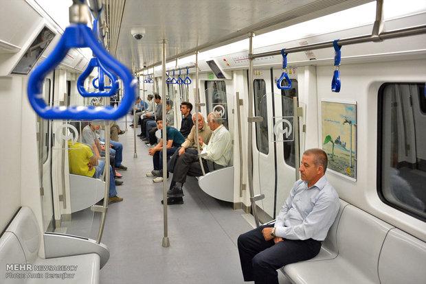 بهره برداری از واگن های جدید مترو شیراز